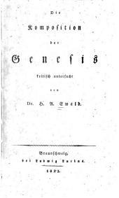 Die Komposition der Genesis