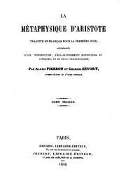 La Métaphysique: Volume2