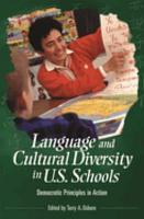 Language and Cultural Diversity in U S  Schools PDF