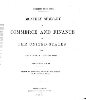 Monthly Summary of Foreign Commerce of the United States PDF