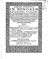 Carmen epaenetica in honorem D. Udalr. Hackeri