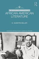 The Routledge Introduction to African American Literature PDF