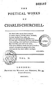 The poetical works [of Charles Churchill]