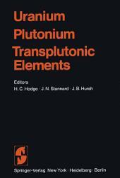 Uranium · Plutonium Transplutonic Elements