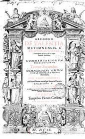 Gregorii de Valentia ... Commentariorum theologicorum tomi IIII ...: tomus primus [-quartus], Volume 2