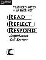 Read, Reflect, Respond Book C Answer Key CD