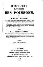 Histoire naturelle des poissons: Volume19