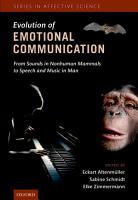 The Evolution of Emotional Communication PDF
