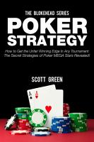 Poker Strategy How to Get the Unfair Winning Edge In Any     PDF