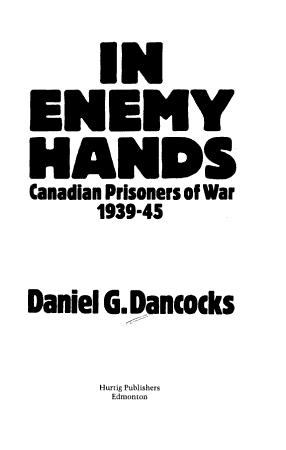 In Enemy Hands PDF