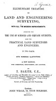 Elementary Treatise on Land and Engineering Surveying PDF