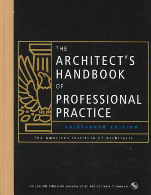 The Architect s Handbook of Professional Practice PDF