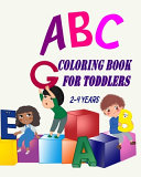 Abc Coloring Books For Toddlers 2 4 Years
