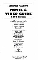 Leonard Maltin s Movie   Video Guide 2004 PDF