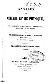 Annales de chimie et de physique: Volume58