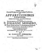 De apparitionibus daemonum exercitatio antipontificia