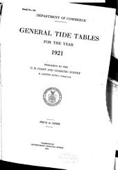 Tide Tables, United States and Foreign Ports