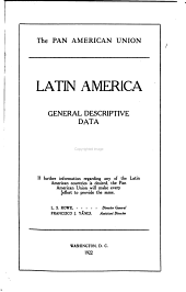 Latin America: General Descriptive Data ...