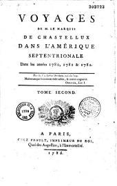 Voyages dans l'Amérique septentrionale en 1780-1782