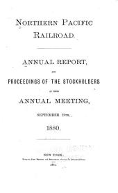 Annual Report and Proceedings of the Regular Meeting of the Stockholders