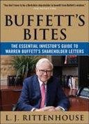 Buffett s Bites  The Essential Investor s Guide to Warren Buffett s Shareholder Letters