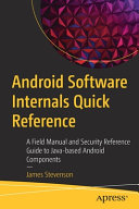 Android Software Internals Quick Reference
