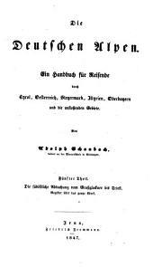 """""""Die"""" südöstliche Abdachung vom Großglockner bis Triest. Register über das ganze Werk: 5"""
