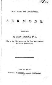Doctrinal and occasional sermons