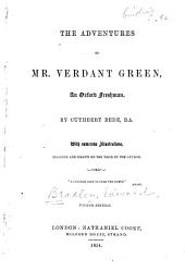 The Adventures of Mr. Verdant Green, an Oxford Freshman