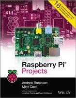 Raspberry Pi Projects PDF