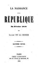 La naissance de la République en février 1848