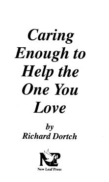 Caring Enough to Help PDF