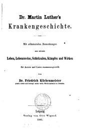 Dr. Martin Luther's Krankengeschichte