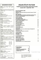 Aquaculture Europe PDF