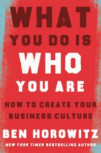 What You Do Is Who You Are Book