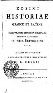 Zosimi Historiae graece et latine