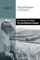 Race Relations in Alan Paton s Cry  the Beloved Country PDF