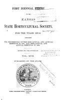 The Biennial Report of the Kansas State Horticultural Society PDF