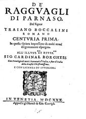 De' ragguagli di Parnaso: Volume 1