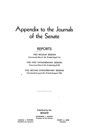 Journals of the Legislature of the State of California PDF