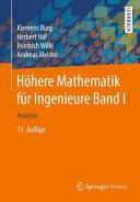 H  here Mathematik f  r Ingenieure Band I PDF
