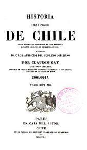 Historia fisica y politica de Chile segun documentos adquiridos en esta republica durante doce años de residencia en ella y publicada bajo los auspicios del supremo gobierno: Parte 4,Volumen 7