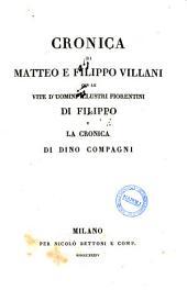 Cronica di Matteo e Filippo Villani