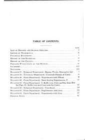 Report of the Experiment Station
