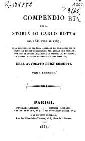 Compendio della storia di Carlo Botta, dal 1534 fino al 1789...