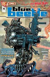 Blue Beetle (2011-) #4