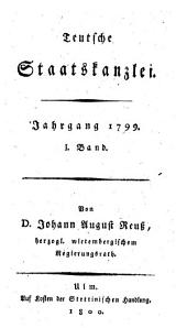 Teutsche Staatskanzlei: Band 96