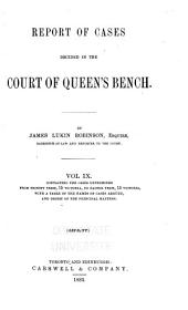 Queen's Bench and Practice Court Reports ... [1844-1882]: Volume 9