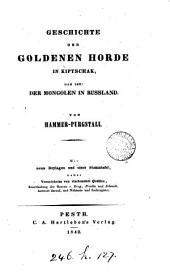 Geschichte der goldenen Horde in Kiptschak, das ist, Der Mongolen in Russland