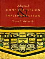 Advanced Compiler Design Implementation PDF